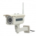 "ZK-IP62 1.3MP 1/4"" CMOS Security Surveillance Wireless  IP Camera w/ 36-IR LED - Grey"