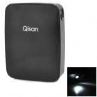 Qisan G1000 10400mAh Mobile Power Bank for Samsung / Iphone - Black