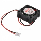 0.2A 2pin HDD 7-Blade Cooling Fan - Black + Red