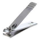 Stainless Steel Nail Clipper Cutter Trimmer Manicure Care Tool - Silver