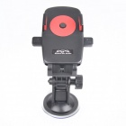 SD001 Universal Car Mount Holder w/ Suction Cup for GPS / Cell Phone - Black + Red