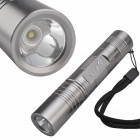 SingFire SF-752 Waterproof 3-Mode 250lm White Camping Flashlight w/ CREE XP-E Q5 - Silver (1x18650)