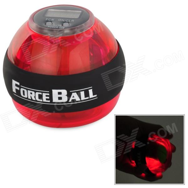 Forceball SPT-ALC Wrist / Fingers / Arm Training Force Ball w/ LED Light - Green + Black + Red