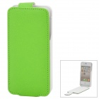 iFans EL-IP4-02 External 1450mAh Power Battery w/ PU Leather Case for iPhone 4 / 4S - Green