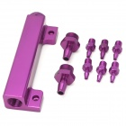 Car Multi-in-One Fuel Rail Kit - Purple