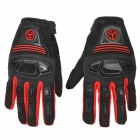 SCOYCO MC24 Professional Motorcycle Full-Finger Gloves - Red + Black (Size L)