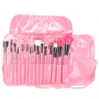 Maquillaje para usted 12-en-1 Cosmetic Brushes Set - Rosa