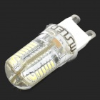 MSLED GS03 G9 150lm 6500K 64-SMD 3014 LED White Light Bulb - Yellow + White