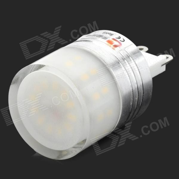 купить LeXing LX-YMD-033 G9 200lm 3500K 36-SMD 3014 LED Warm White Light Bulb w/ Shade (220~240V) недорого