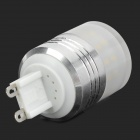 LeXing LX-YMD-033 G9 200lm 3500K 36-SMD 3014 LED Warm White Light Bulb w/ Shade (220~240V)