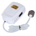 JHQ-11 AC / DC Oxygen Increasing Device for Fishing / Fish Tank - White