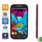 "Viko Z6 Android 4.0 MTK6517 Dual Core GSM Bar Phone w/ 4.7"", Capacitive Screen, FM and Wi-Fi - Black"