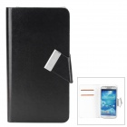 Jilis-m Universal Flip-open PU Leather Case w/ Card Slot for Samsung i9300 / i9500 + Smaller Phones