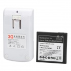 Replacement 3.7V 2500mAh Rechargeable Li-ion Battery + US Plugs Power Adapter for Sony M36h Xperia ZR