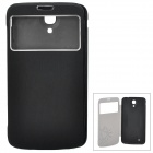 Baseus LTSAMG63-UF01 Window Display PU Leather Case for Samsung Mega6.3 /i9200 / i9208 - Black