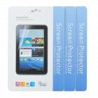 Protective Matte Frosted Screen Protector Film Guard for Google Nexus 7 II - Transparent (3 PCS)
