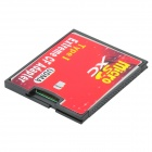 A2 TF para CF / Micro SD para CF Adaptando Card - Red + Black ( 64GB SDXC )