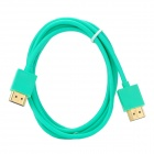 Gold Plated HDMI Male to Male Cable - Light Green (150cm)