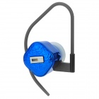 LY-R6250-LANSE Stylish Tiny Bluetooth V2.1 Earphone w/ Microphone for iPhone 4S / 4 - Deep Blue