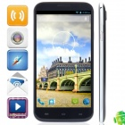 "Q6000(J6) MTK6589 Quad-Core Android 4.2.1 WCDMA Bar Phone w/ 6.0"" HD, 8GB ROM, FM and GPS - Black"