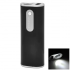 Sinoele B2600 5V 2600mAh Li-ion Battery Emergency Power Bank w/ LED Light for Iphone + More - Black