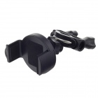 "2/3.5"" Universal M07 Motorcycle Holder Base for Cell Phone, GPS - Black"