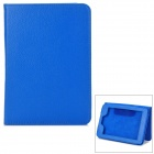 Protective PU Leather Case w/ Hand Strap Holder for Kindle Paperwhite - Blue