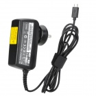 Universal Replacement 5V / 2A US Plug to Micro USB Male Power Adapter for Tablet PC - Black