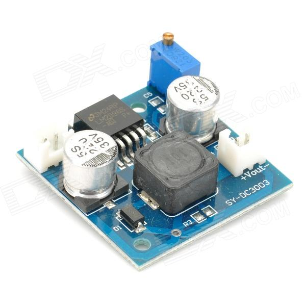 Micro DC Voltage Step-Down Transformer Module - Blue transcend sata iii 256gb ts256gssd360s 2 5