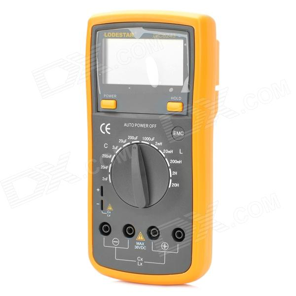 "LODESTAR LVC6243 2.7"" LCD Digital Inductance Capacitance Meter"