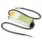 Waterproof 30W LED Driver Power Source - Silver + Green + Yellow + Black