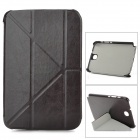 Prtective PU Leather Case for Samsung N5100 - Black