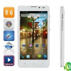 "Q9000 / Q5 Android 4.2 Quad Core WCDMA Bar Phone w/ 5.0"" HD, 1GB RAM, 4GB ROM, GPS, MTK6589"
