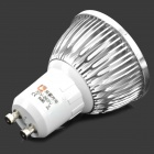 LeXing GU10 15 SMD-5630 LED 6W 400lm 3500K Warm White Spot Lamp - Silver