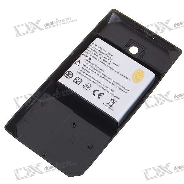 1800mAh 3.7V Rechargeable Li-Ion Battery for Dopod S900/HTC P3700