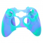 Protective Soft Silicone Case for XBOX360 Controller - Purple + Blue + Green