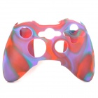 Protective Soft Silicone Case for XBOX360 Controller - Red + Green + Purple
