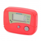"Multifunctional 0.3"" Screen Mini Portable Electronic Pedometer - Red (1 x AG10)"