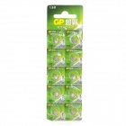 GP LR41 GP192 1.5V Button Battery - Silver (10 PCS)