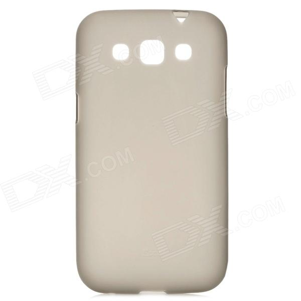 Protective TPU Back Case for Samsung i8552 / i8550 - Translucent Grey стоимость
