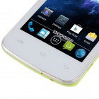 "DOOGEE Collo DG100 MTK6572 Dual-Core Android 4.2.2 WCDMA Bar Phone w/ 4.0"", FM, GPS - White + Green"