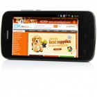 "DOOGEE Collo DG100 MTK6572 Dual-Core Android 4.2.2 WCDMA Bar Phone w/ 4.0"", FM and GPS - Black"