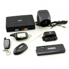 PA908 Two-Way Car Remote Control Security System - Black