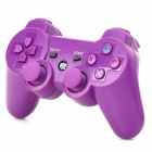 Stylish Convenient Wireless Bluetooth Game Pad Controller for PS3 - Purple