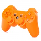 Stylish Convenient Wireless Bluetooth Game Pad Controller for PS3 - Orange