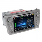 "HF 7668G 8"" Touch Screen Car DVD Player w / Radio / GPS / ATV for Toyota Camry -Silver (DC 12V)"