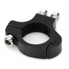 Durable Aluminum Alloy Water Bottle Bracket Fixing Adapter - Black