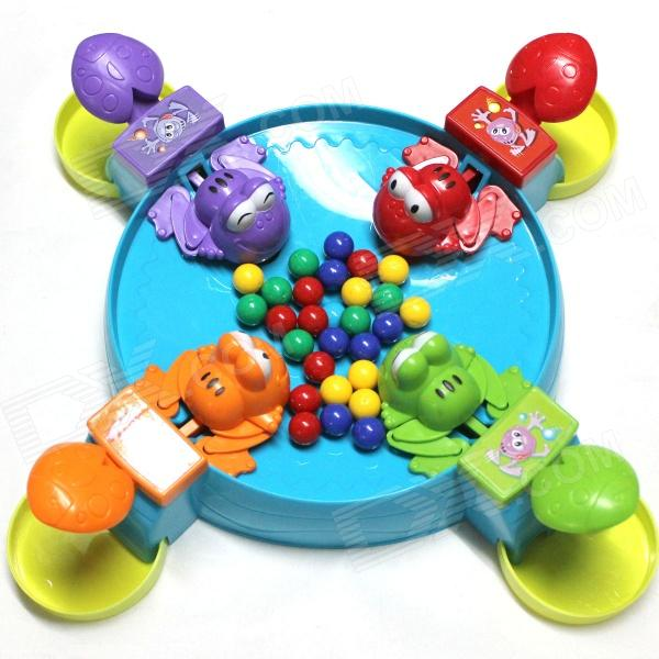 Feeding Frog Game Toy - Multicolored