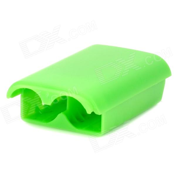 Convenient Replacement Battery Case for XBOX 360 Wireless Controller - Green