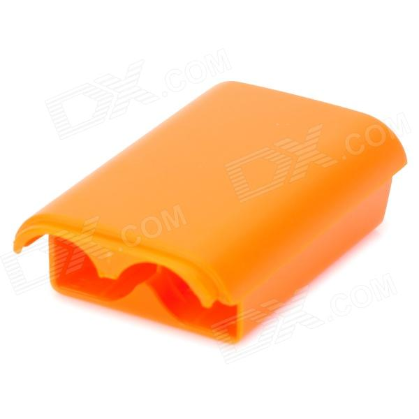 Convenient Replacement Battery Case for XBOX 360 Wireless Controller - Orange